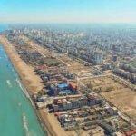 تصویر هوایی از بابلسر