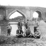عکس قدیمی از پل محمدحسن خان