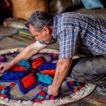 نمدمالی در مازندران