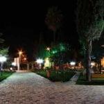 پارک در شب