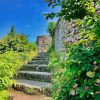مسیر ورود به قلعه